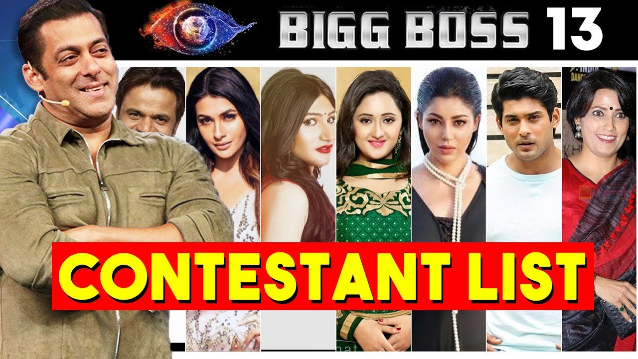 Bigg Boss 13 Starting Date Show Timing Colorstv Bigg Boss